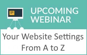 Your Website Settings from A to Z